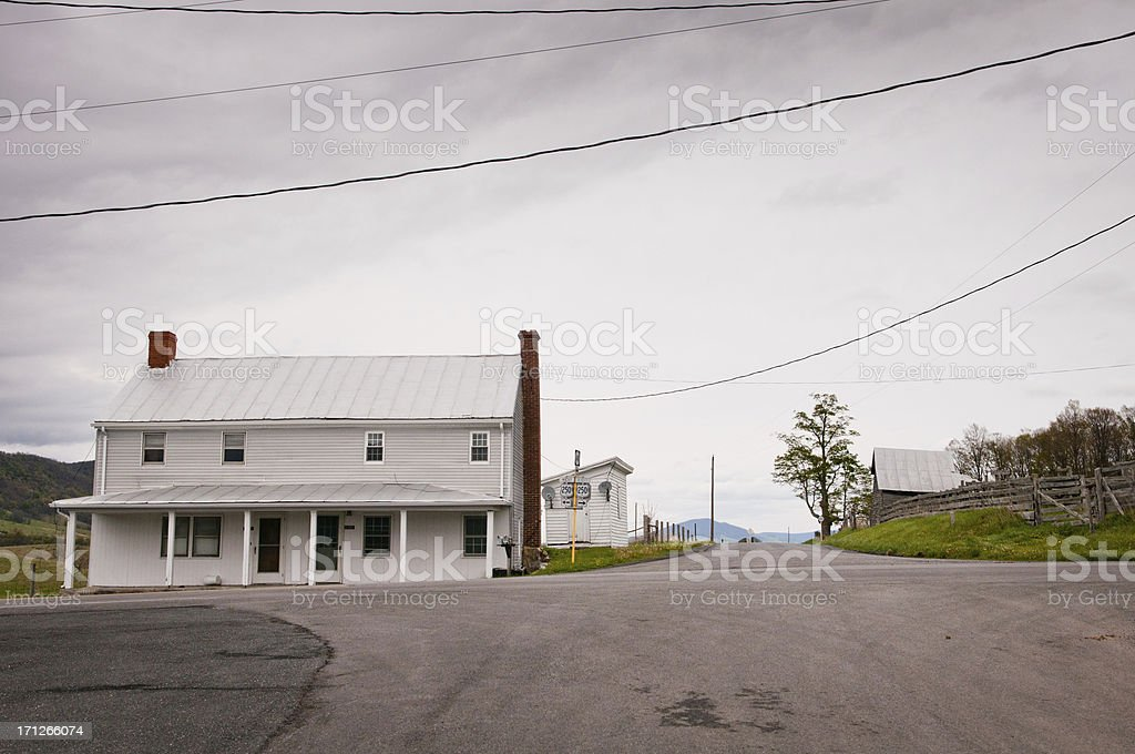 American Rural LIfe royalty-free stock photo