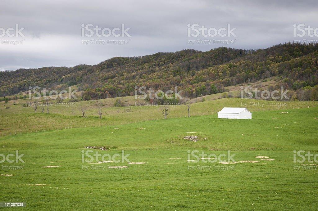 American Rural LIfe royalty-free stock photo