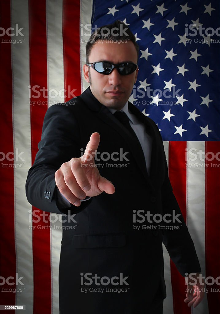 American Sanctions Force stock photo