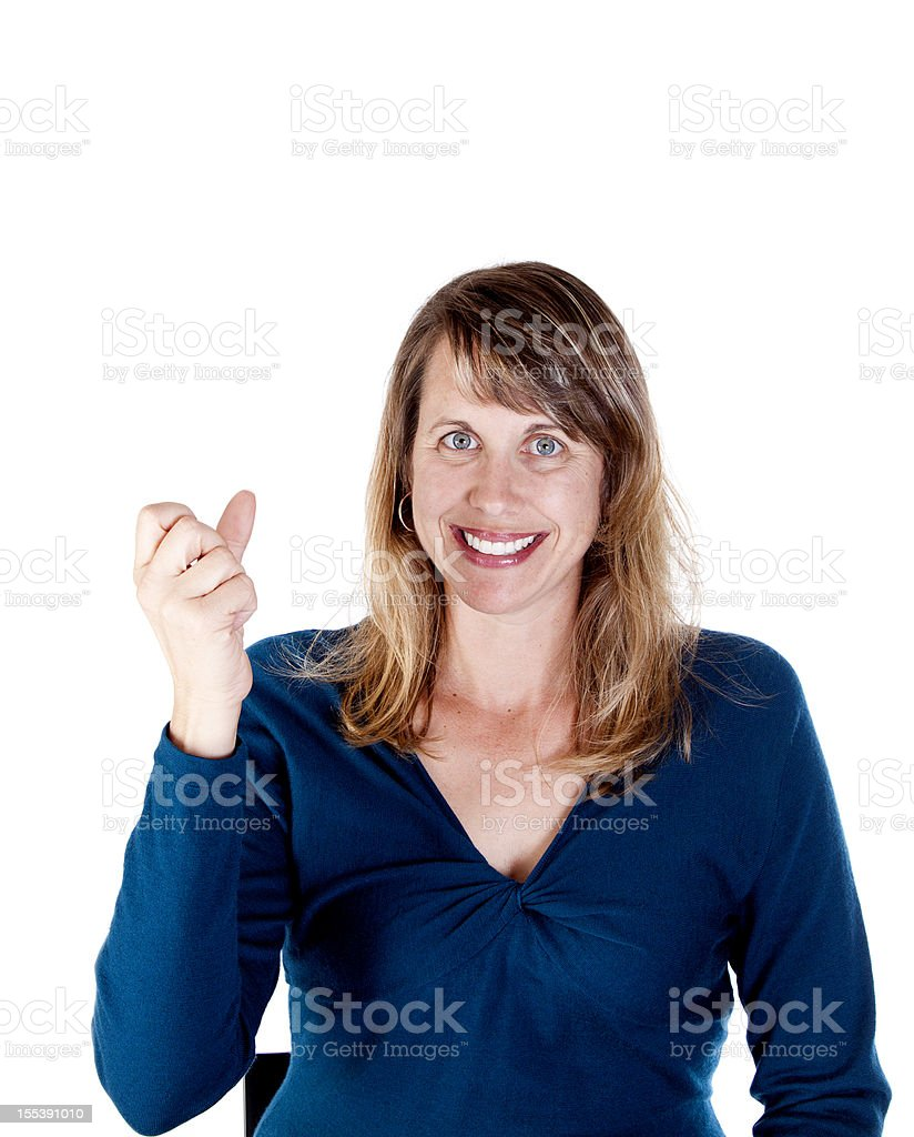 American Sign Language for MILK royalty-free stock photo