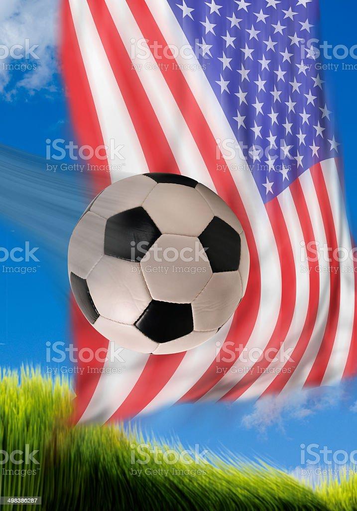 American Soccer. stock photo