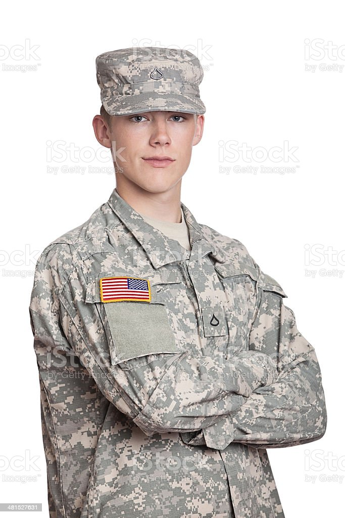 American Soldier royalty-free stock photo