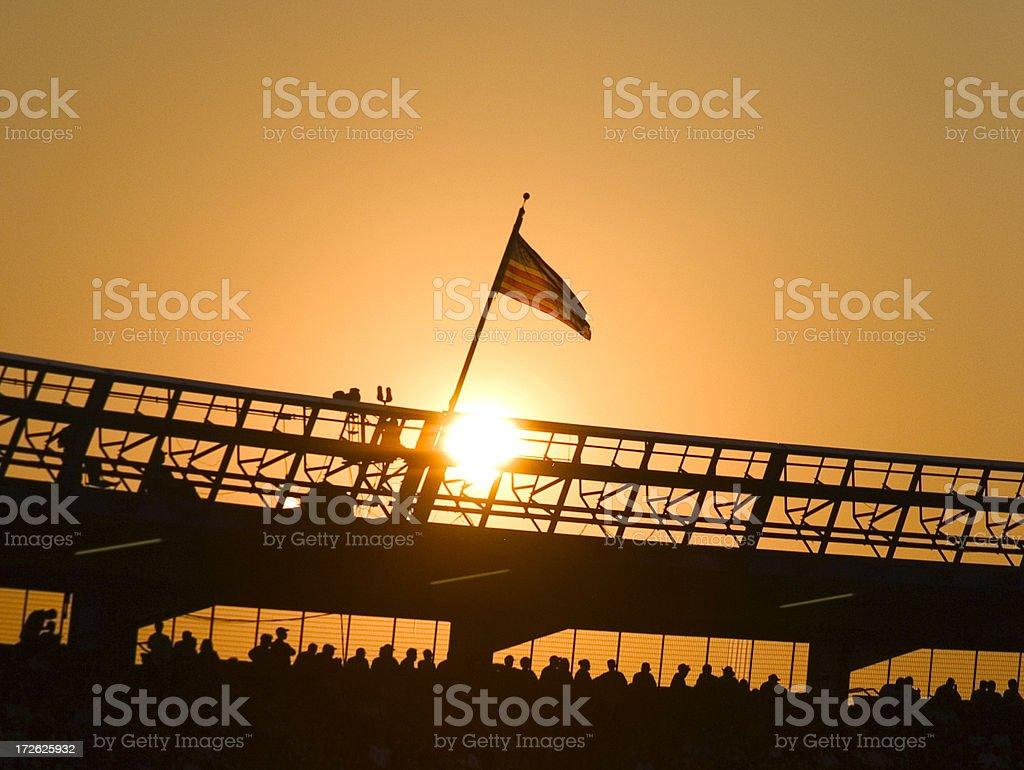 American Stadium royalty-free stock photo