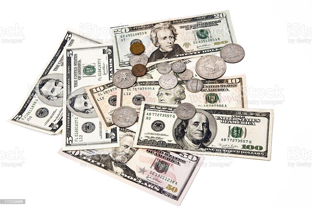 American Stash royalty-free stock photo