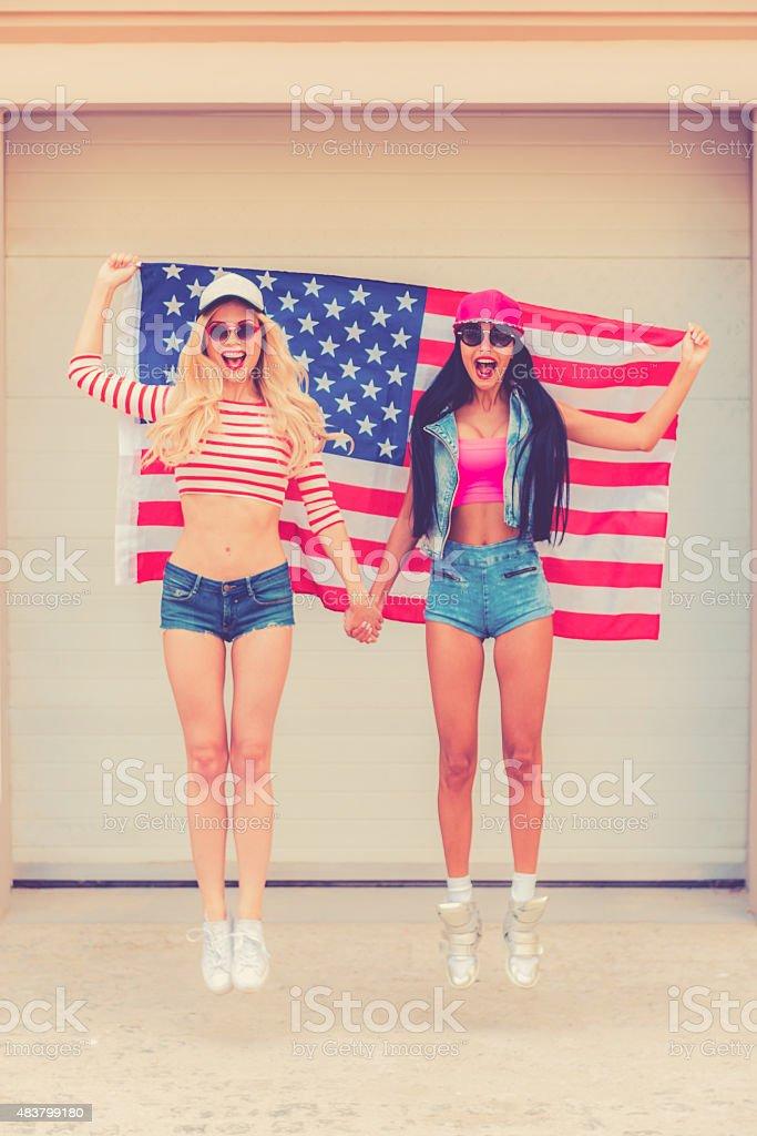 American style. stock photo