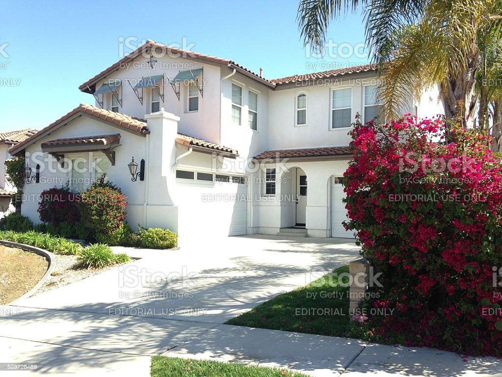 American Suburban Houses stock photo