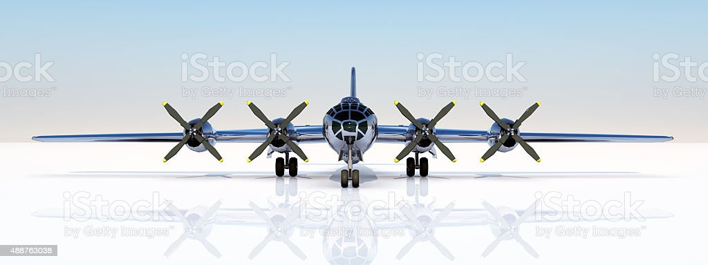 American Superfortress stock photo