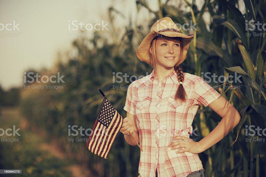American Teenager stock photo