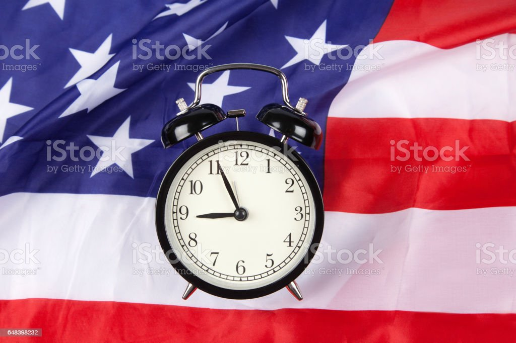 American time stock photo