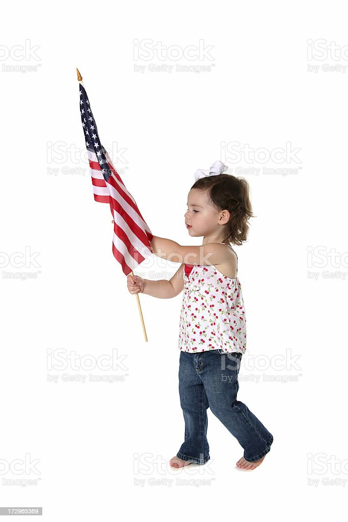 American Toddler stock photo