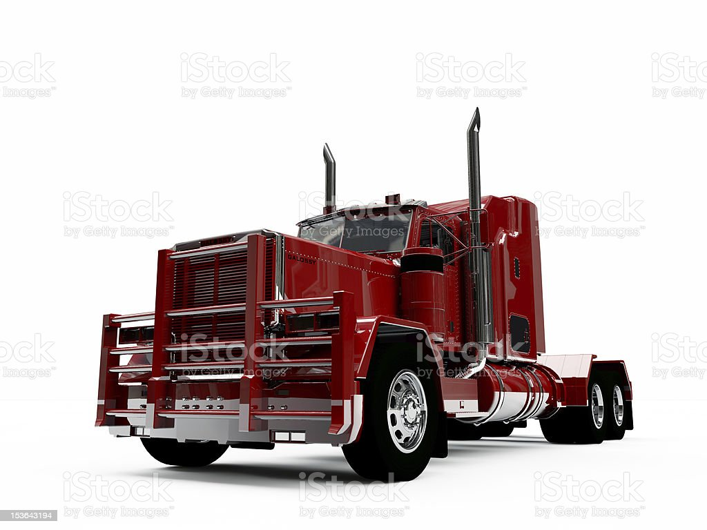 american truck royalty-free stock photo
