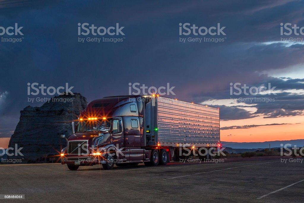 American Truck stock photo