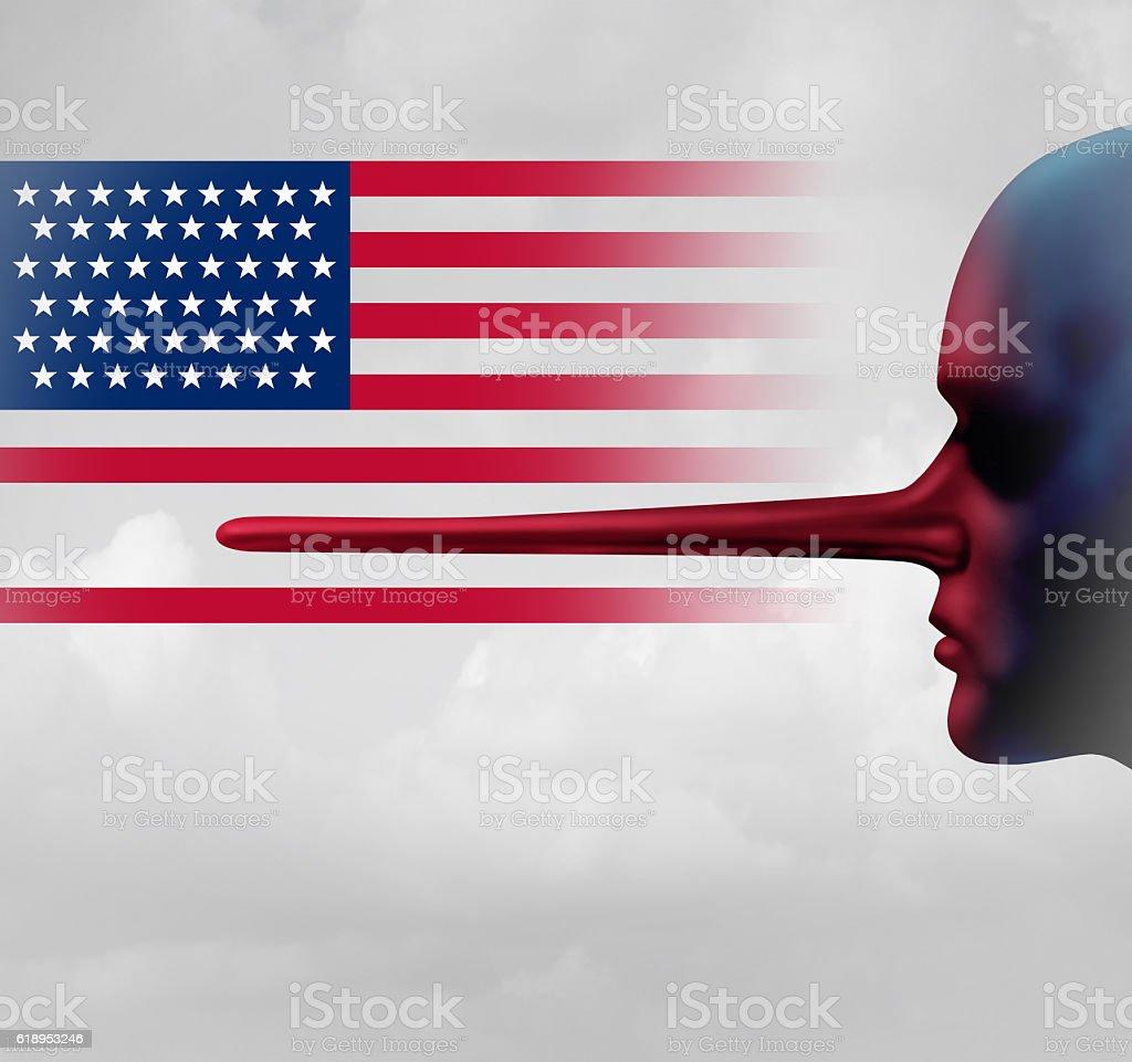 American Trust Crisis stock photo