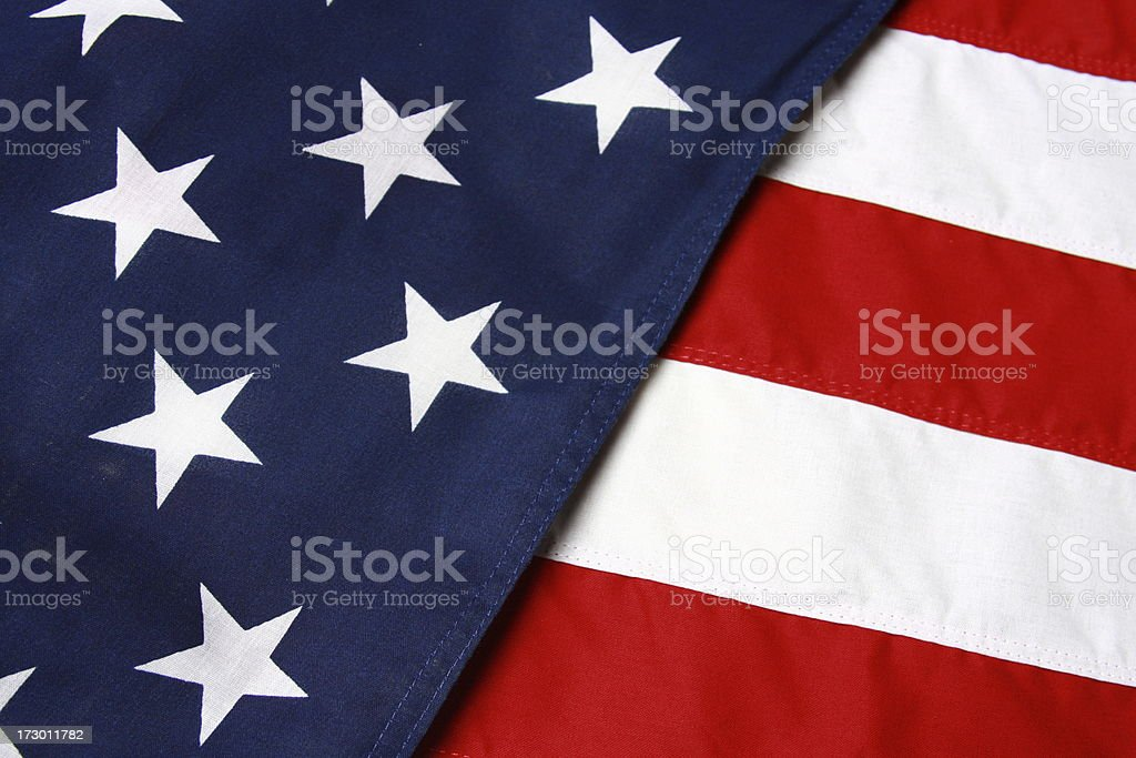 American U.S.A. flag background royalty-free stock photo