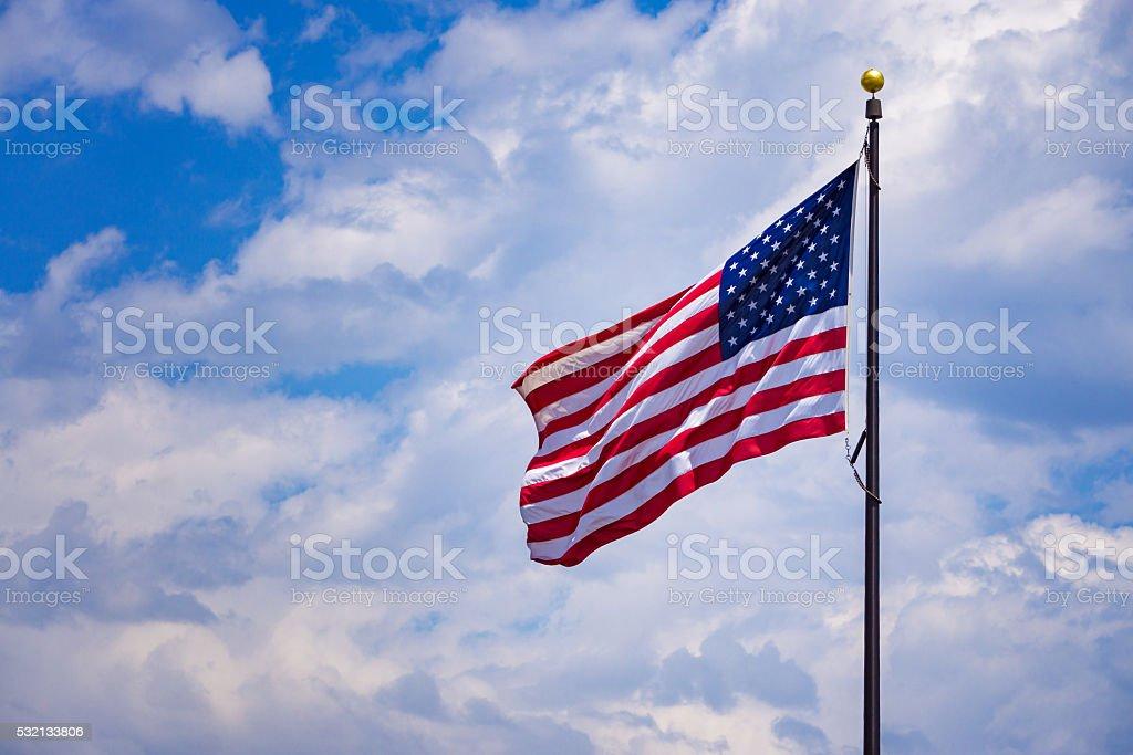 American USA Flag stock photo