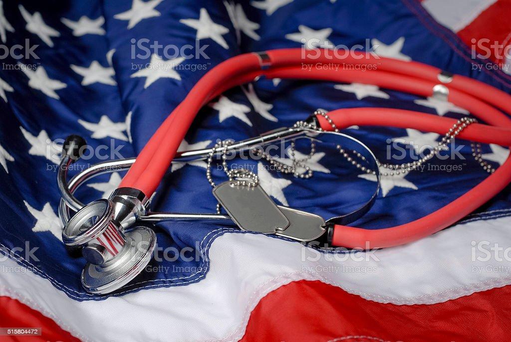 American Veterans Healthcare stock photo