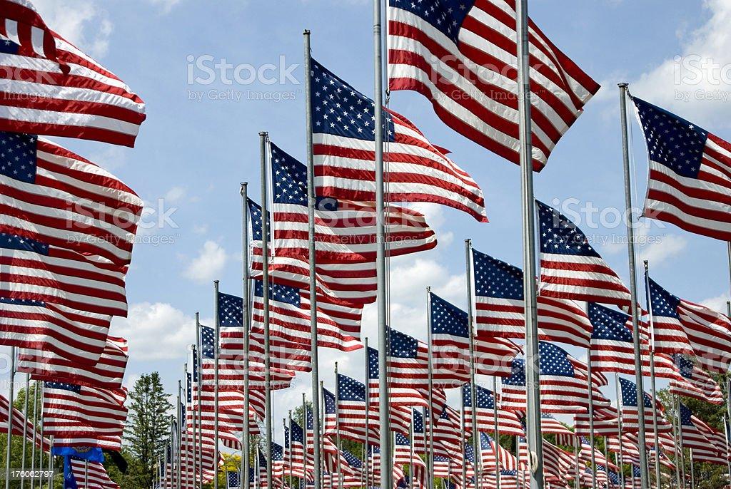 American Veteran's Memorial stock photo