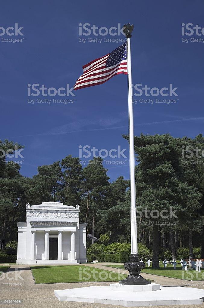 American war memorial royalty-free stock photo