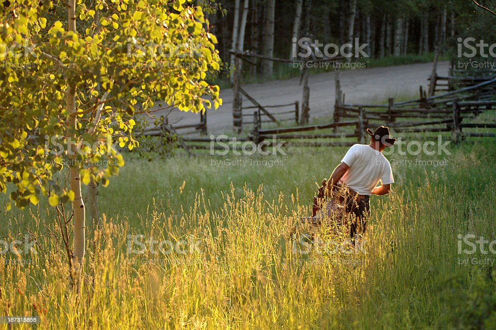 American West Cowboy royalty-free stock photo
