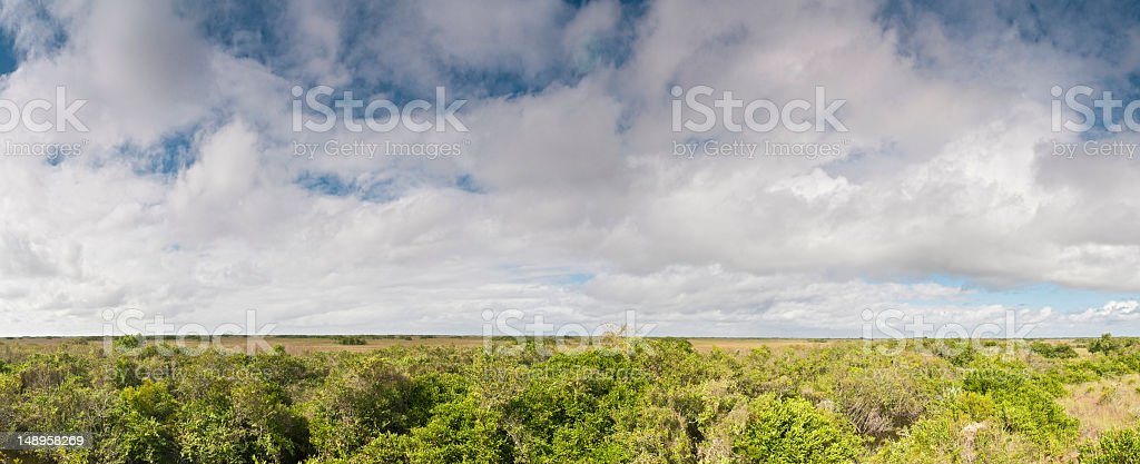 American wilderness big sky background royalty-free stock photo