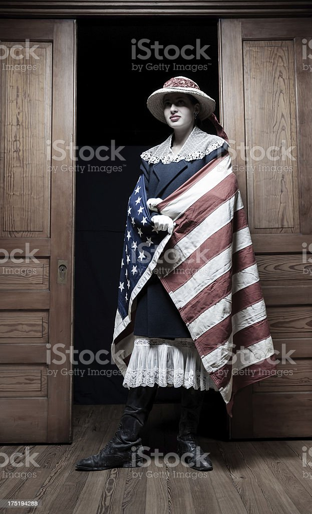 American woman royalty-free stock photo