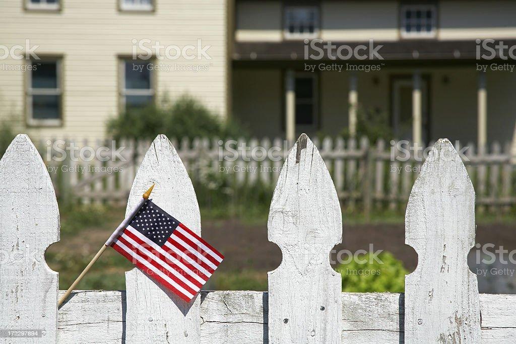Americana royalty-free stock photo