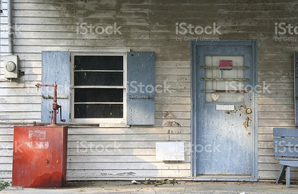 Americana Store Front royalty-free stock photo