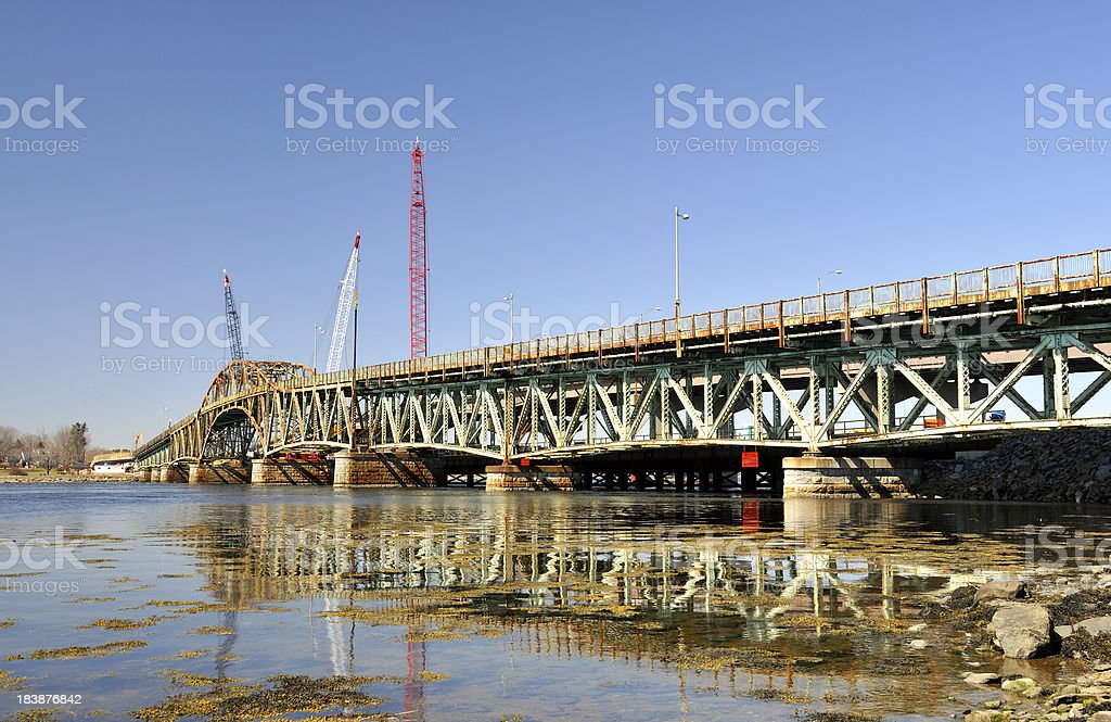 America's Aging Infrastructure Under Construction stock photo