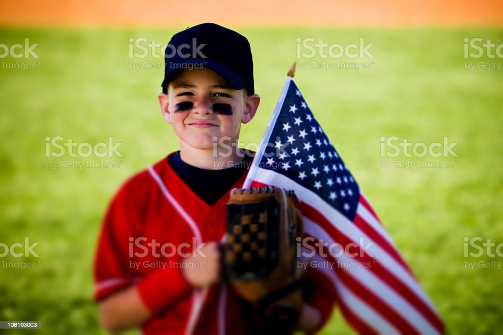America's Pastime royalty-free stock photo