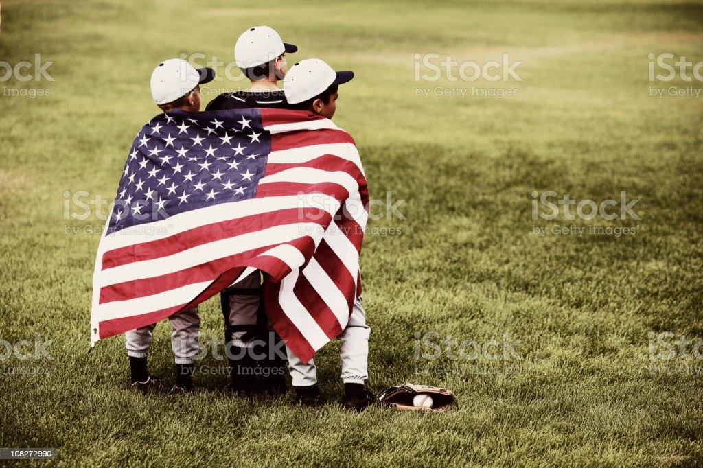 America's Pastime stock photo
