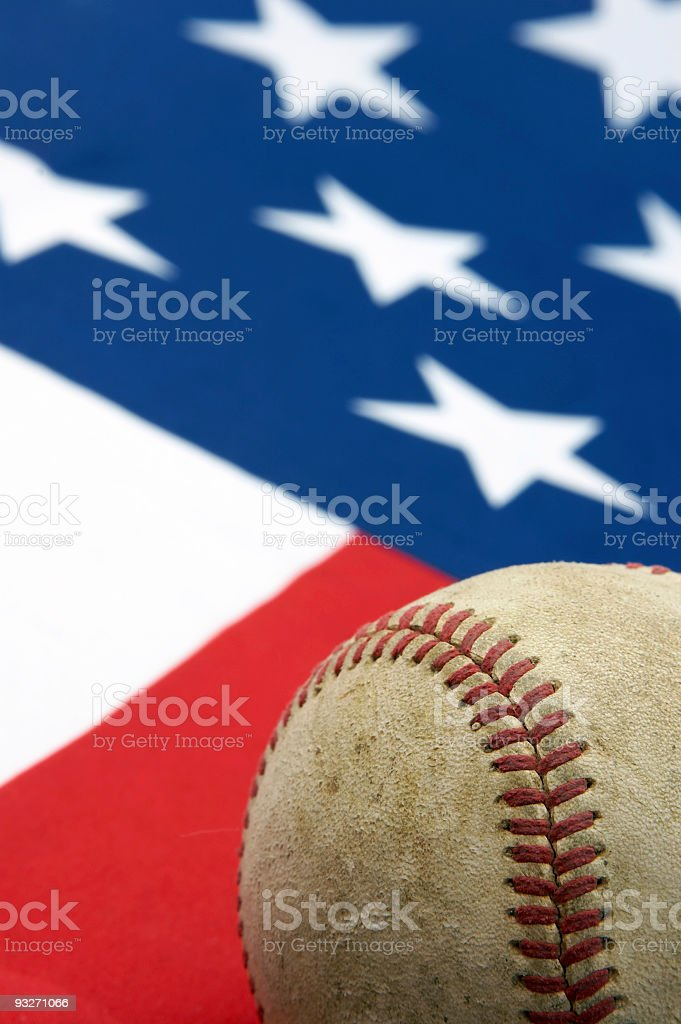 America's Pasttime #1 royalty-free stock photo