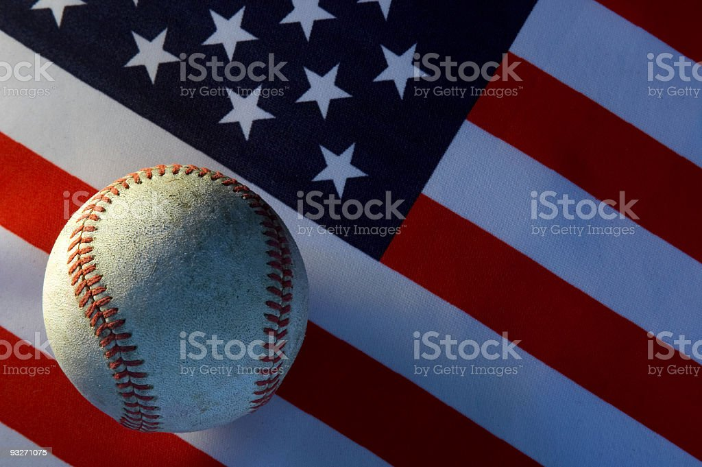 America's Pasttime royalty-free stock photo