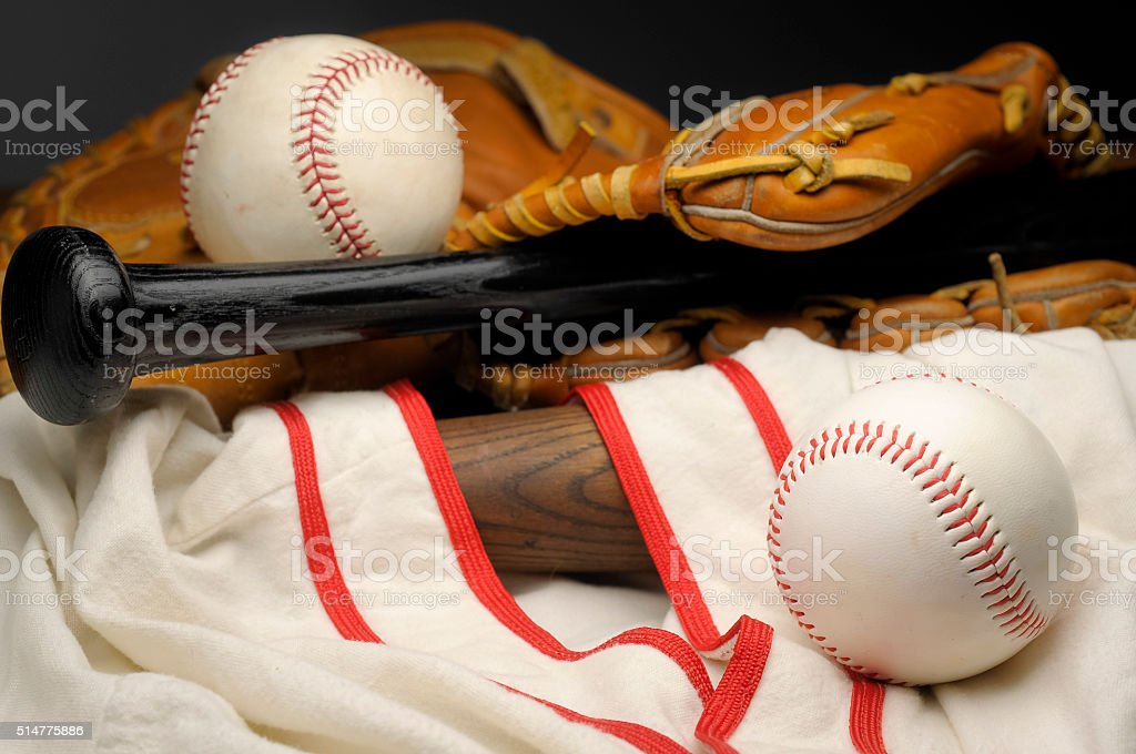 Americas's Game stock photo