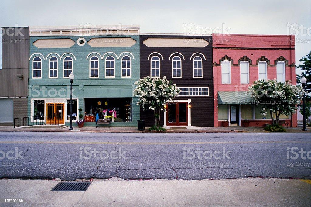 Americus, Georgia, USA royalty-free stock photo