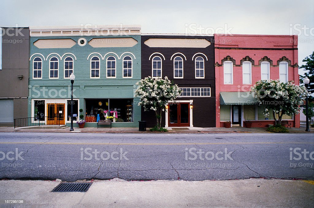 Americus, Georgia, USA stock photo