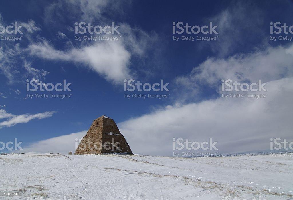 Ames Pyramid stock photo