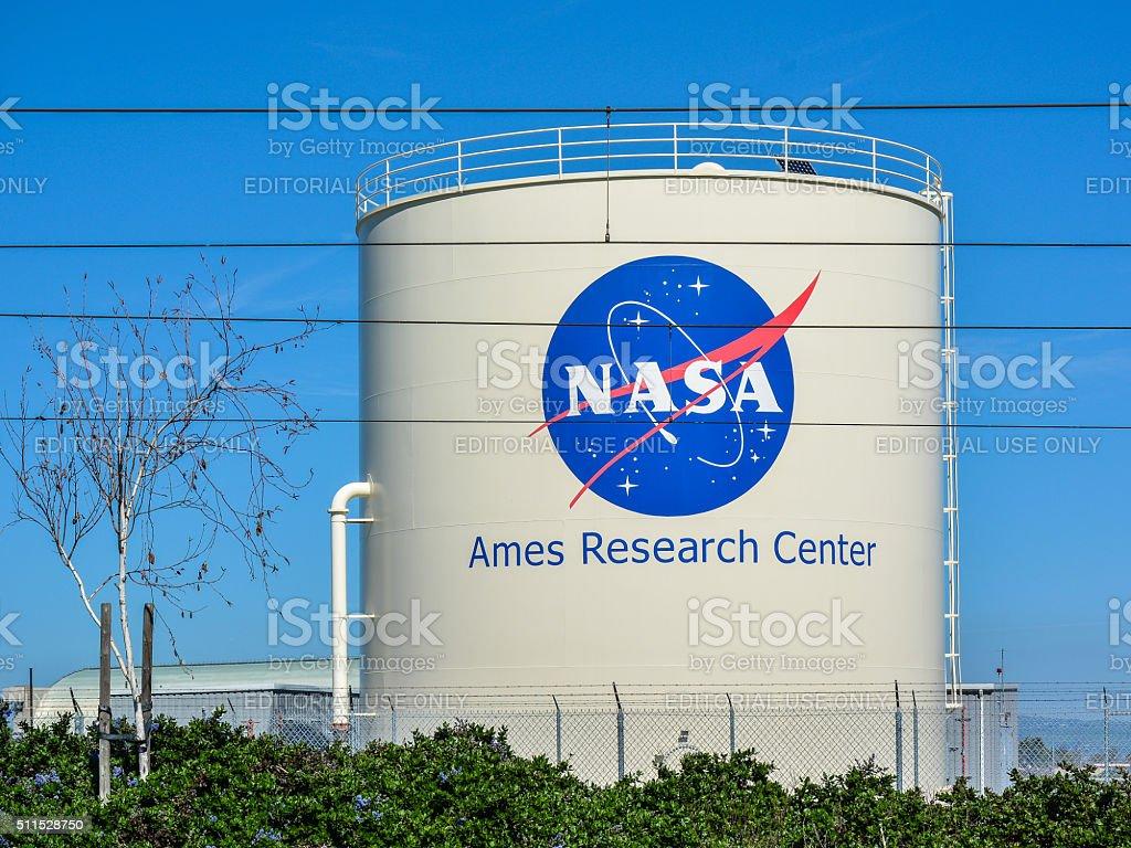 NASA Ames Research Center, Mountain View, CA stock photo