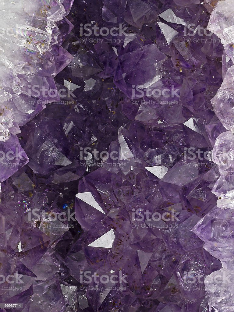 amethyst 2 royalty-free stock photo