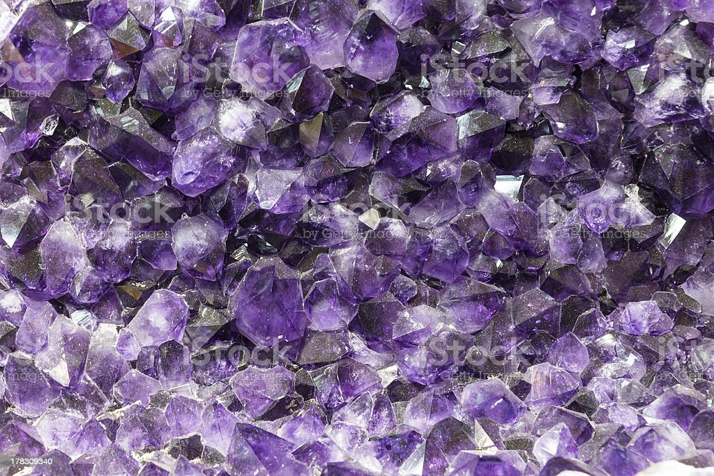 Amethyst background royalty-free stock photo
