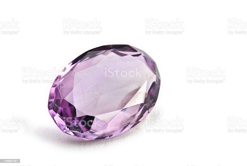 Amethyst Jewel royalty-free stock photo