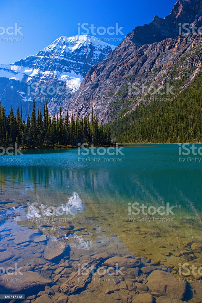 Amethyst Lake royalty-free stock photo
