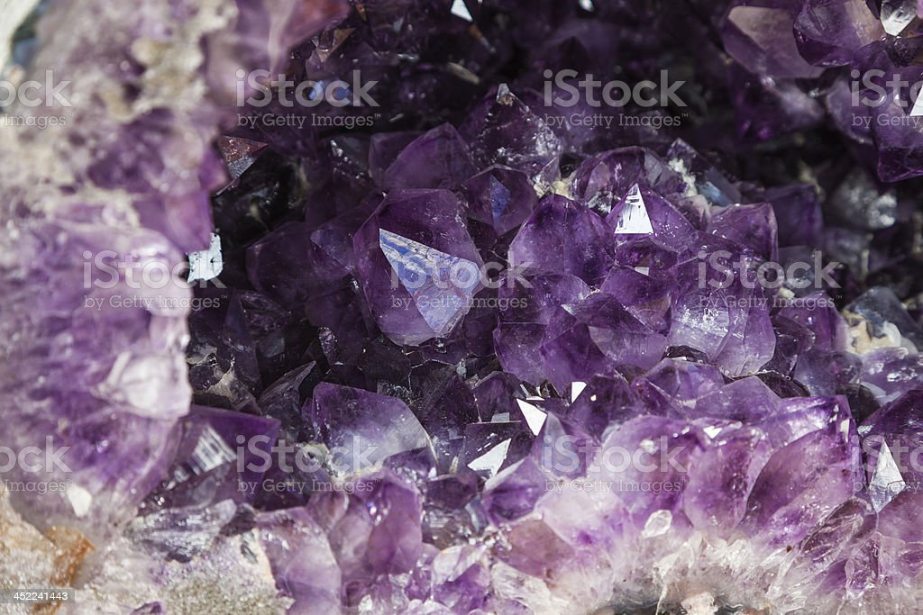 amethyst stock photo