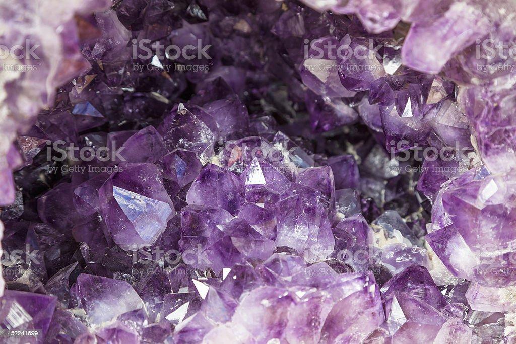amethyst royalty-free stock photo