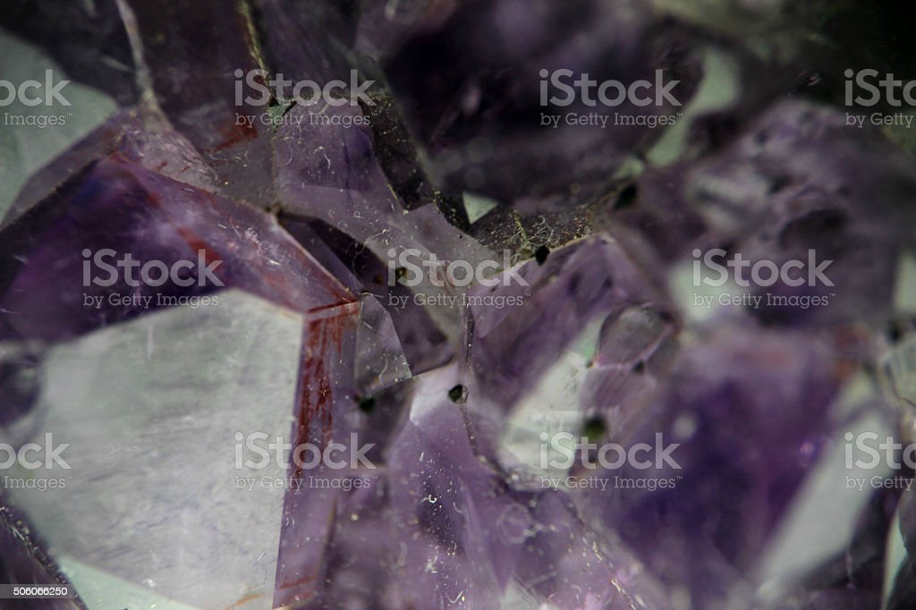 Amethyst stock photo