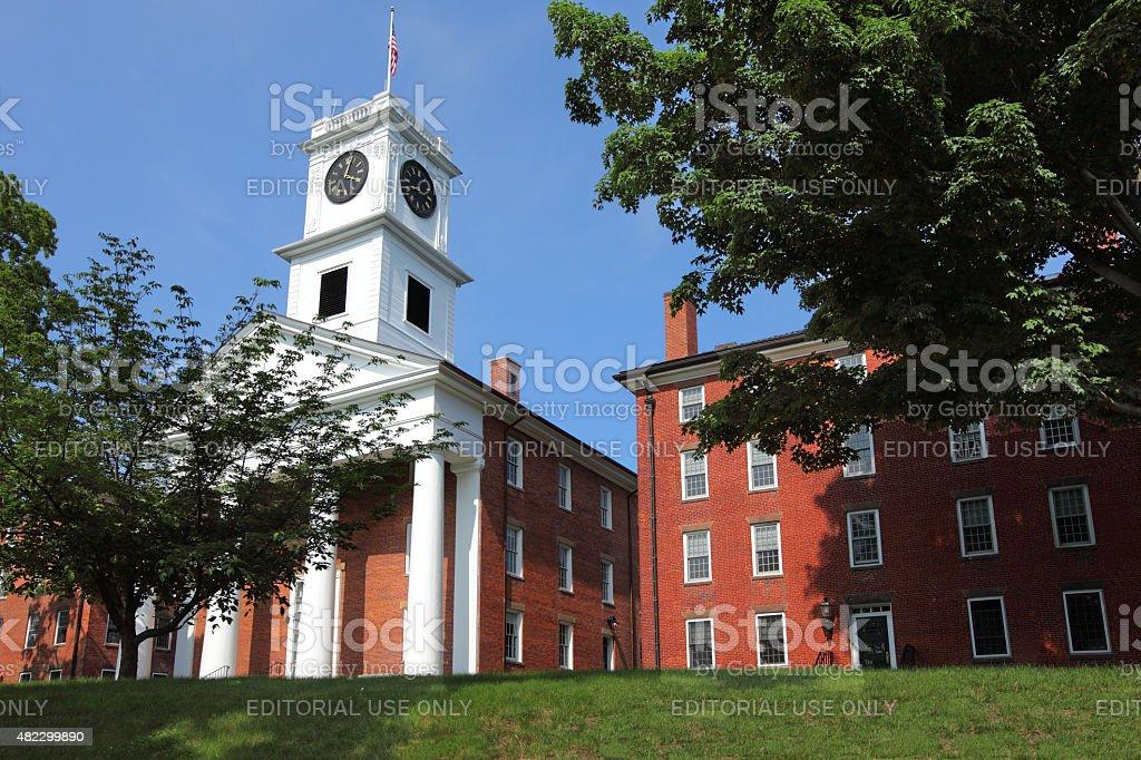 Amherst College stock photo