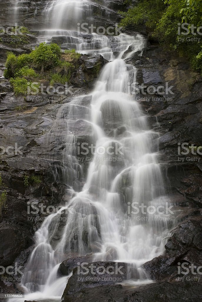 Amicalola Falls Dawson County Hwy 52 Georgia royalty-free stock photo