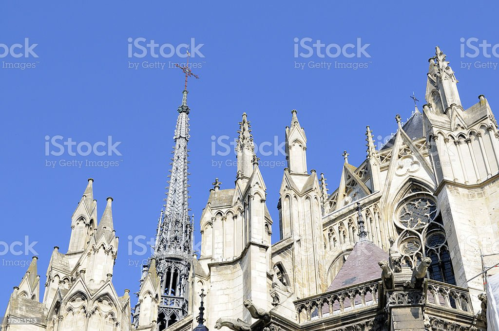 Amiens Cathedral, France stock photo