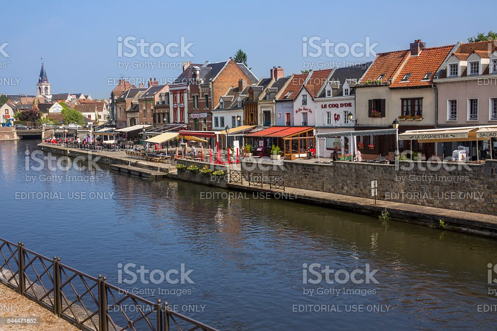 Amiens - France stock photo