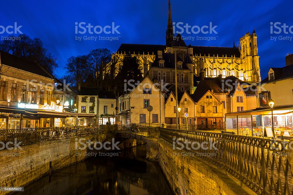 Amiens in France stock photo
