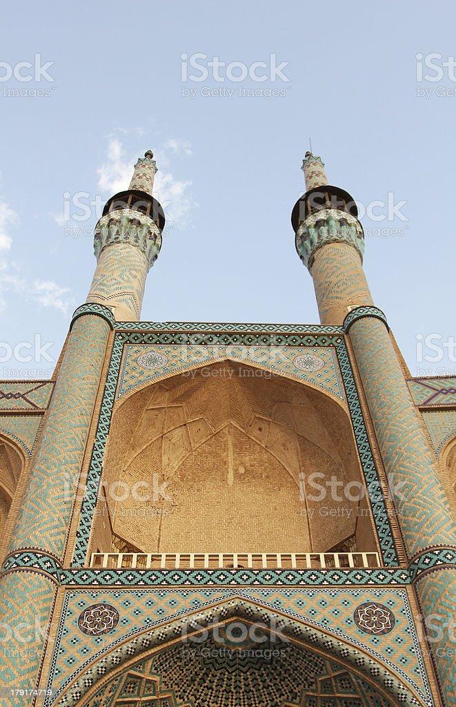 Amir Chakmak Mosque (Yazd, Iran) royalty-free stock photo